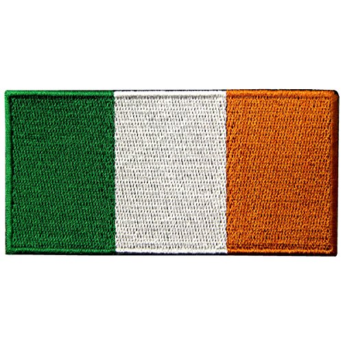 Republic of Ireland Flag Embroidered Irish National Emblem I