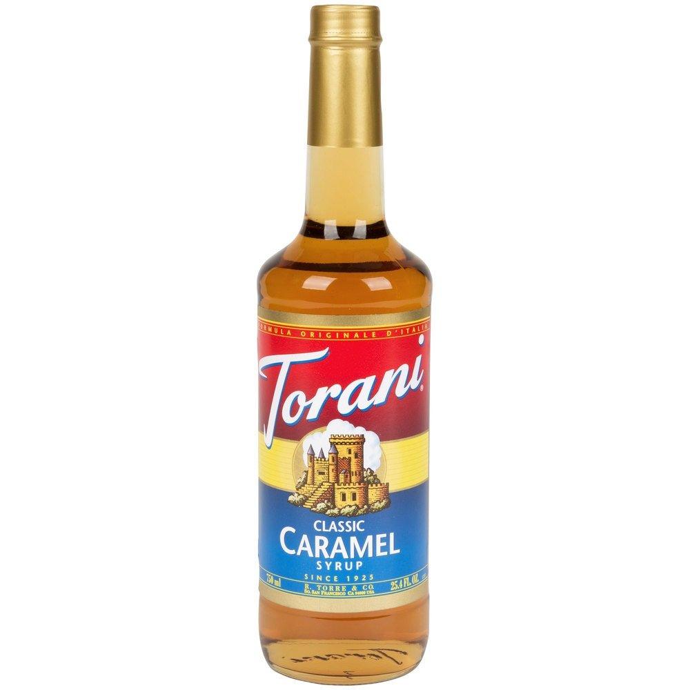 Torani CLASSIC Caramel Syrup, 750 mL