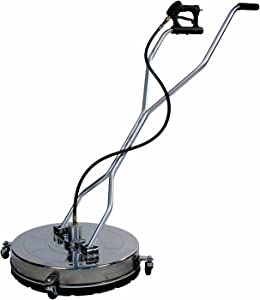 Ultimate Washer UWSC24S 24-Inch Stainless Steel Surface Cleaner for Briggs & Stratton, Generac and SimpsonGas or Electric Power Pressure Washers, 4000 PSI Rating