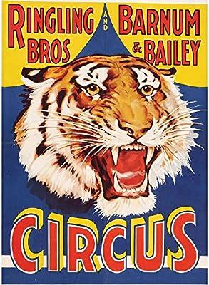 Fabulous Poster Cartel Circo Circo Tiger Tiger Poster Cartel ...
