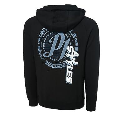 a1147a53 WWE AJ Styles The Untouchable One Full Zip Hoodie Sweatshirt Black Small