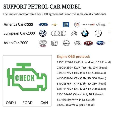 OBDKCAN OBD2 Scanner Car Code Reader JDiag 101 Automotive Engine Fault Code  Reader CAN Scan Tool
