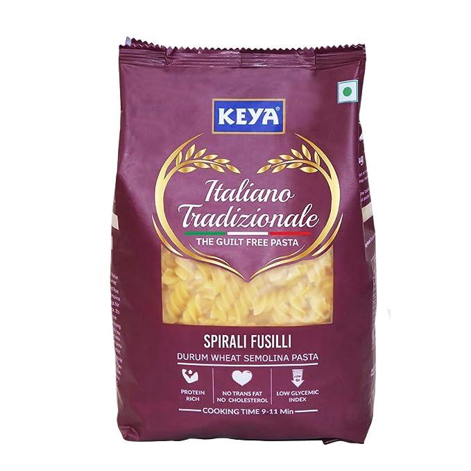 Keya Gourmet Spirali Fusilli Durum Wheat Pasta 500 gm x 1