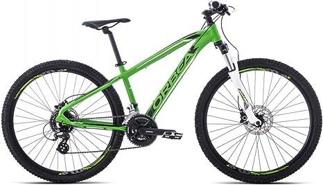 ORBEA MX 26 XC F01314MF - Bicicleta de montaña Juvenil, 24 velocidades, Color Verde y Negro: Amazon.es: Deportes y aire libre