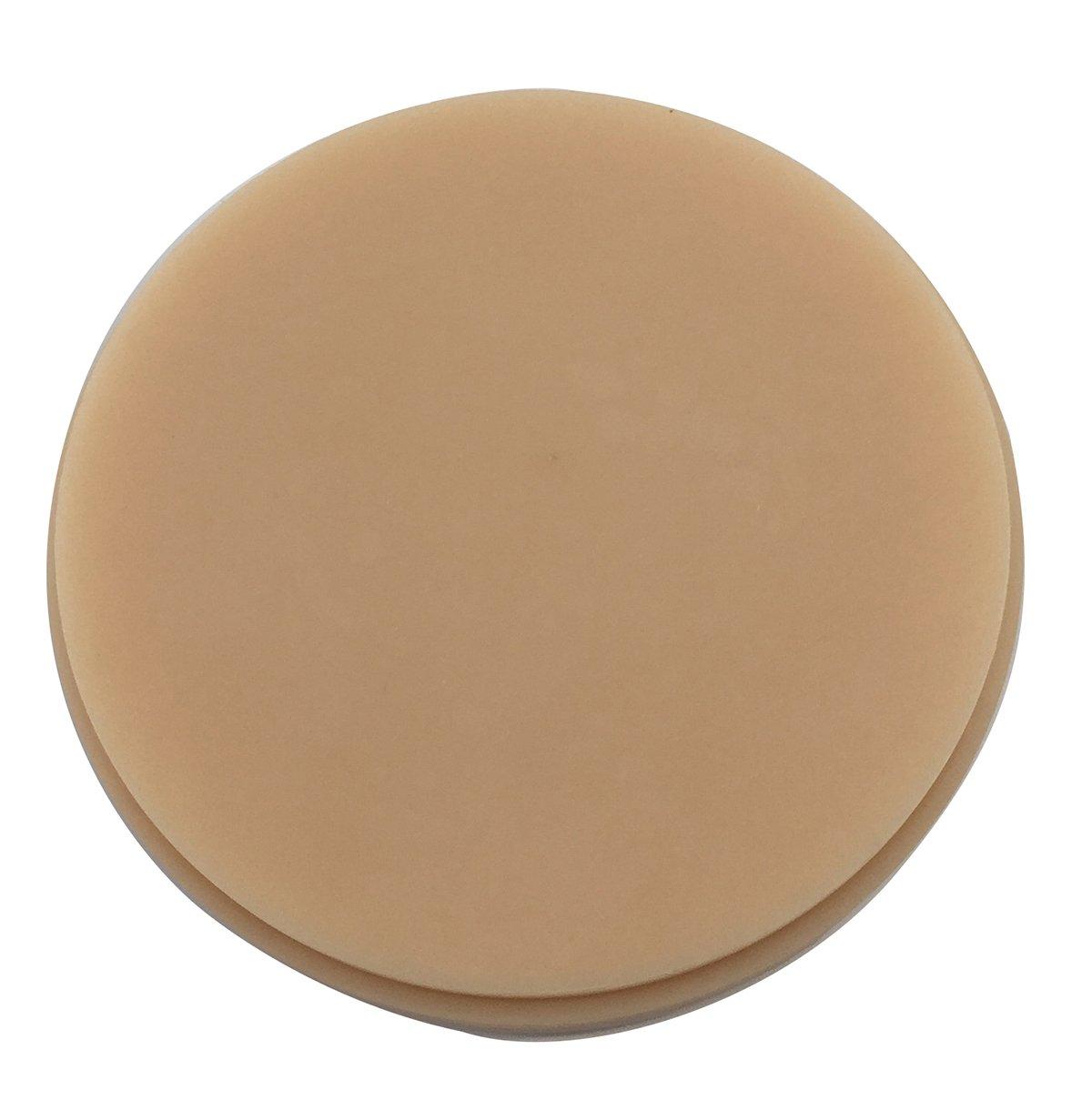 TJIRIS Wax Discs Dental CAD/CAM Machinable Carvings Blocks Miling Disks Dental Laboratory Materials 10 Pieces