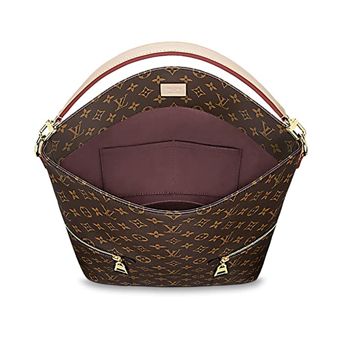 Authentic Louis Vuitton Mélie Monogram Canvas Leather Shoulder Handbag  Article M41544 Made in France  Handbags  Amazon.com 8fb105a204d28