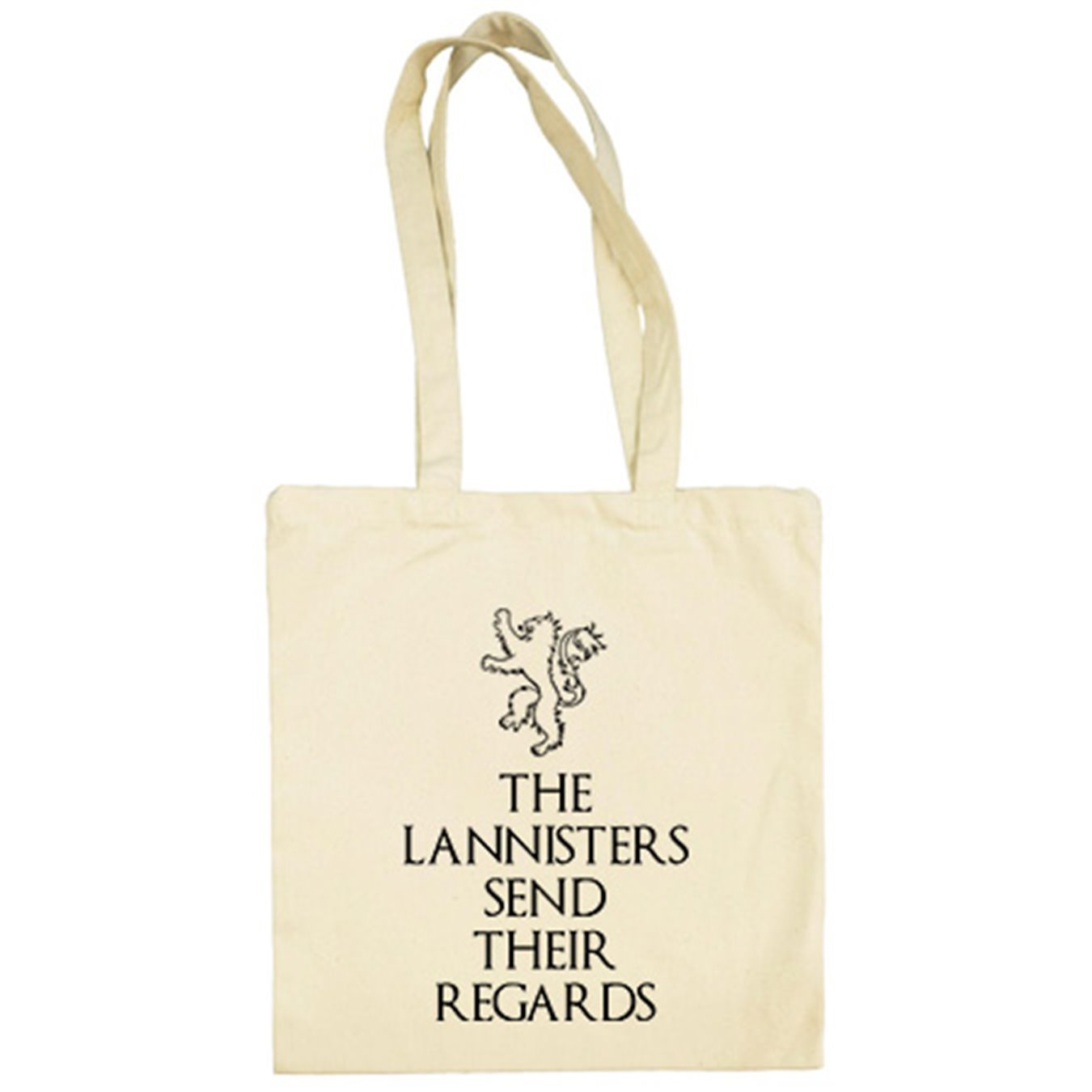 Bolsa de tela Juego de Tronos The Lannisters Send Their ...