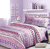 Norson Bohemian Bedding Sets / Boho Duvet Cover Set / Children's Cartoon Bedding Set / Girl Bedding Sets / Cotton / Twin / Queen (Twin)