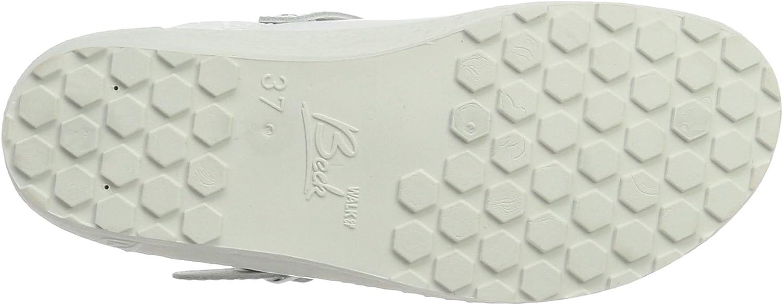 9 UK White Wei/ß 01 Beck Womens Mules