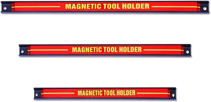 Rangement Outillage Maison Garage Atelier Goplus 3 Barres Magnetique Fixe Murale Pour Outils Aimant Puissant Pour Rangement Mural Des Outils