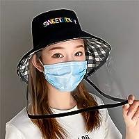 GFDGFDG Mascarilla Facial Protectora Seguridad Protector Facial Gorro para El Sol Gotas Anti-Saliva Sombrero Protección para Los Ojos Aislamiento Sombrero Anticontaminación