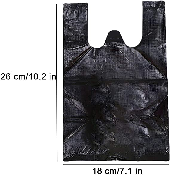200 bolsas de eliminación sanitarias para mujer, 200 unidades, bolsas de eliminación de servilletas, con asas bolsa de desechos sanitarios, apto para ...