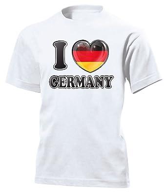I Love Germany Fanshirt 4782 Kinder T-Shirt (K) Gr.116