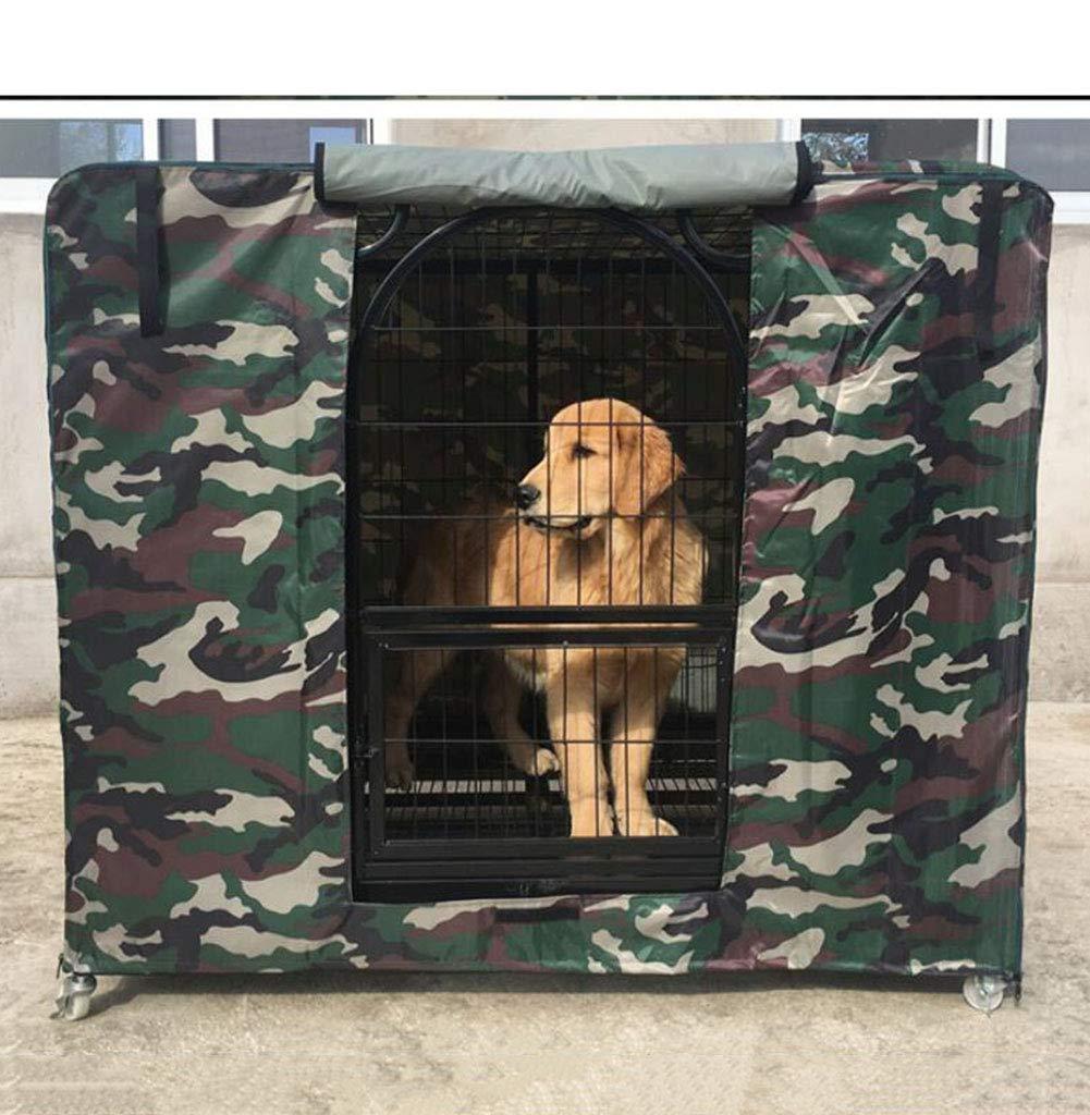 AJZGF Im Im Im Freien Hundekäfigbezug Oxford Tuch warm und Winddicht regendicht kalter Schatten im Freienbedarf für Haustiere (Farbe   D, größe   114 x 76 x 86cm) B07KJDLPT4 Abspannseile Won hoch geschätzt und weithin Grünraut im in- und Au 8de1d8