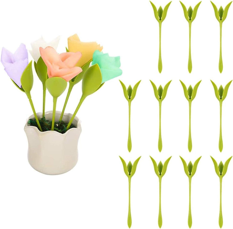 Bosha 16pcs Creative Napkin Holder Flower Rose Paper Towel Flower Tool Roll Flower Green Design For Table Decoration Family Party Napkin Ring Amazon Co Uk Kitchen Home