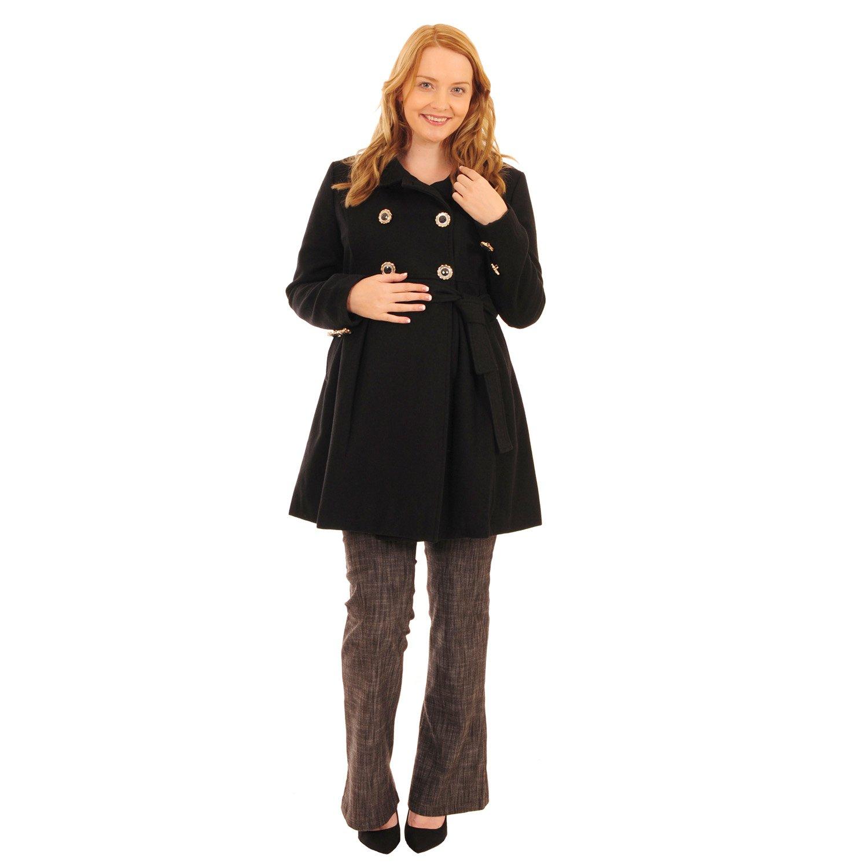 Fascia per gravidanza, diagonale cinturata Duffle-Giacca militare