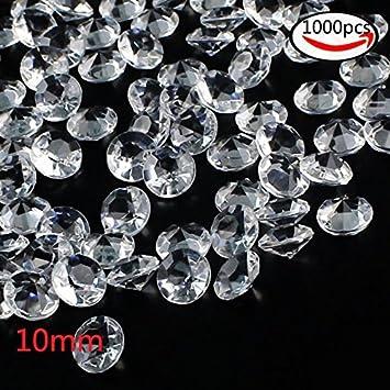 Whonline 1000 Stuck Deko Diamanten Klare Hochzeitstische Kristalle