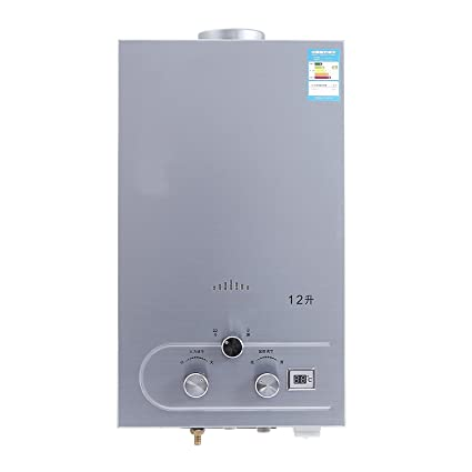 Popsport 12L Water Heater Natural Gas Hot Water Heater Tankless ...