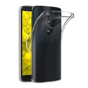 AICEK Funda Moto G6 Play, Transparente Silicona Fundas para Motorola Moto G6 Play Carcasa Silicona Funda Case (5,7 Pulgadas)