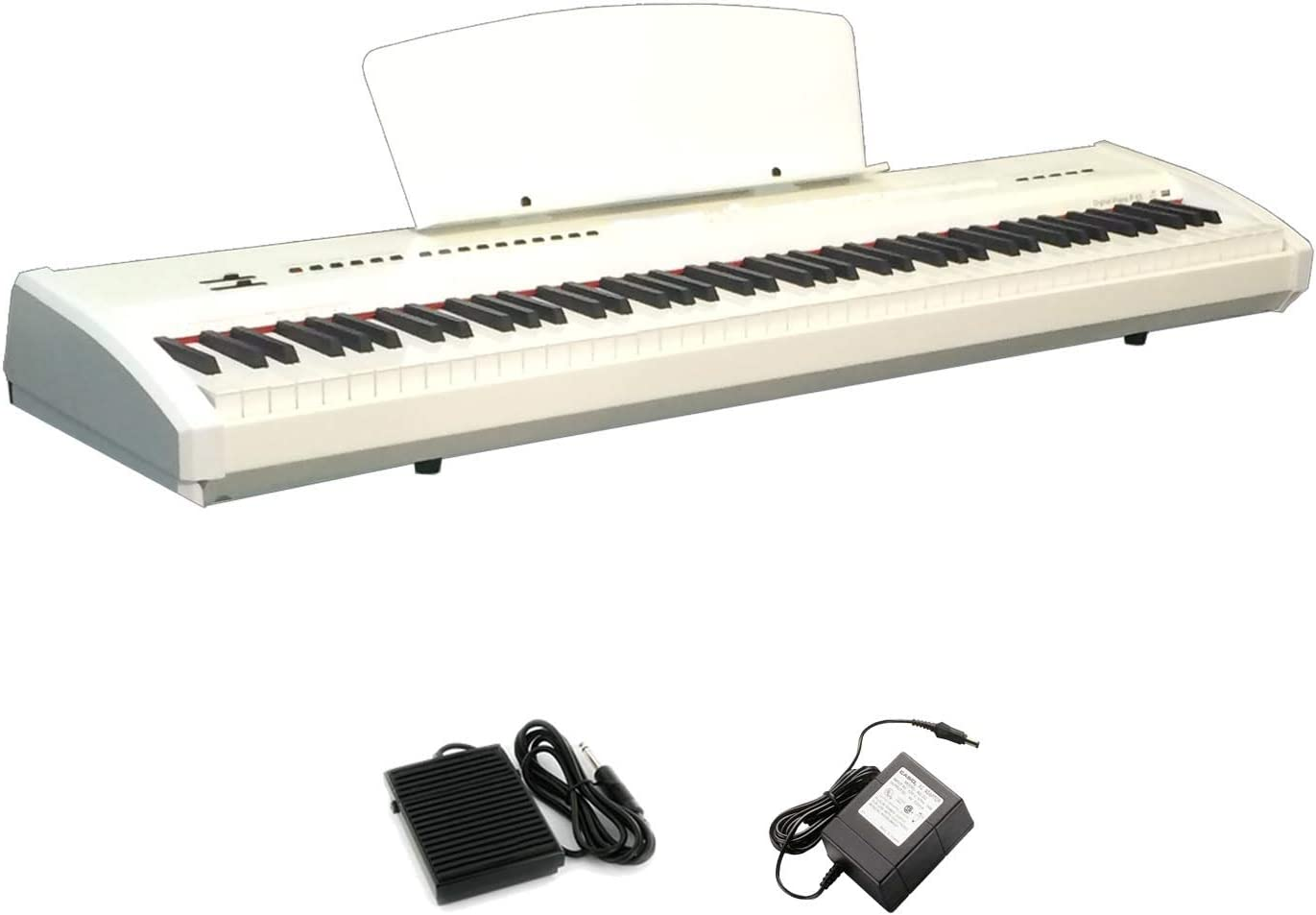Chase P-55 - Piano digital portátil (incluye pedal de Sustain ...