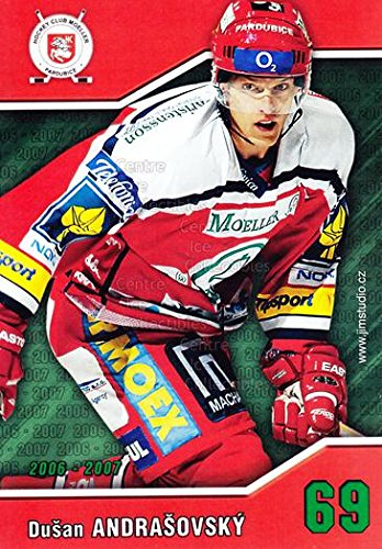 fan products of (CI) Dusan Andrasovsky Hockey Card 2006-07 Czech HC Pardubice Postcards 1 Dusan Andrasovsky