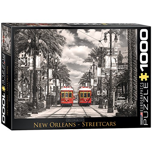 EuroGraphics New Orleans Streetcars Puzzle (1000-Piece)