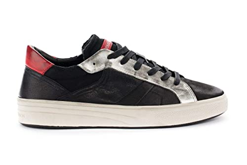 London Amazon 11600aa120 E Crime Sneakers Nero it Scarpe Pelle Uomo Borse 6dxgwqY