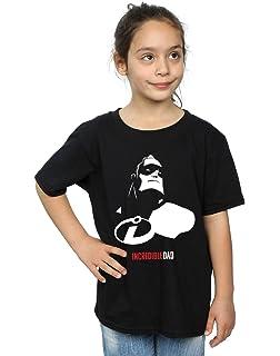 e22495eb Disney Girls The Incredibles 2 Edna Mode T-Shirt: Amazon.co.uk: Clothing