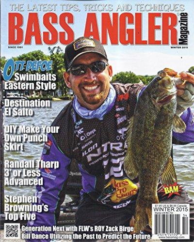 Bass Angler Magazine (Winter 2015 - Cover: Ott DeFoe)