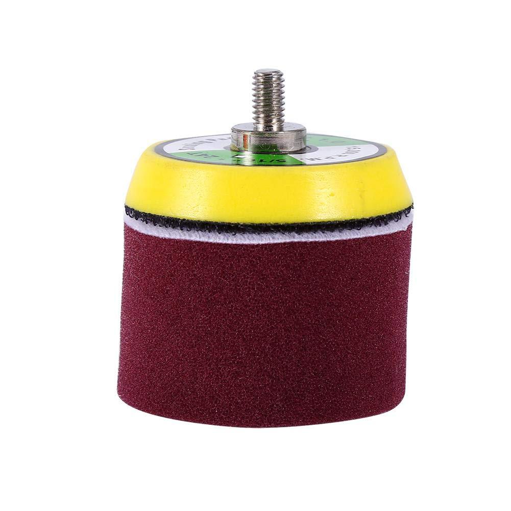 16pcs 2 Soft Sponge Brush Cushion Washing Kit Sponge Flat Polishing Buff Pad Set For Air Sander Car Polisher Thread-M6X1