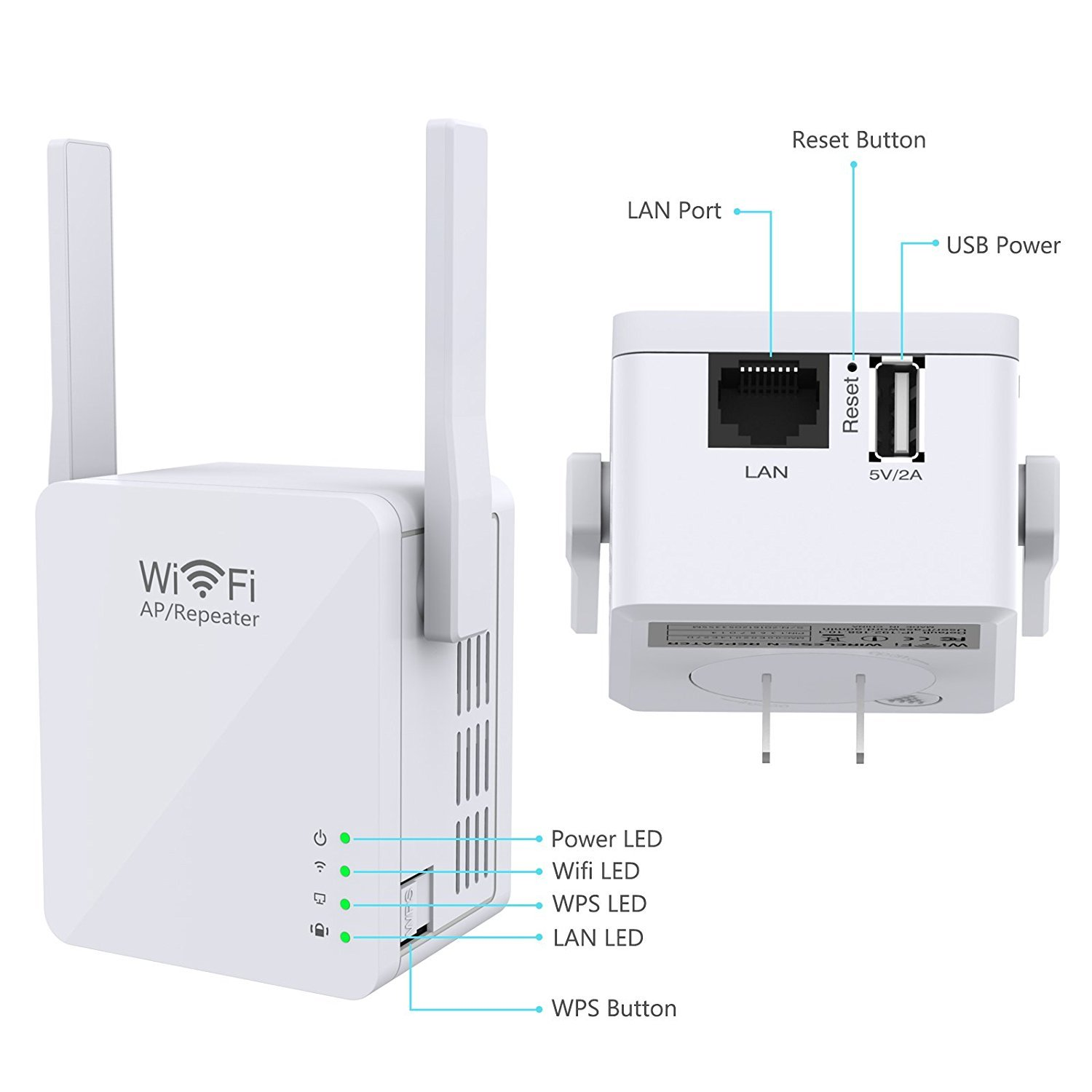 E Sports Wi Fi Range Extender Access Point Mode Repeater Wifi Usb Cable With Schematic Micro Port Electronics