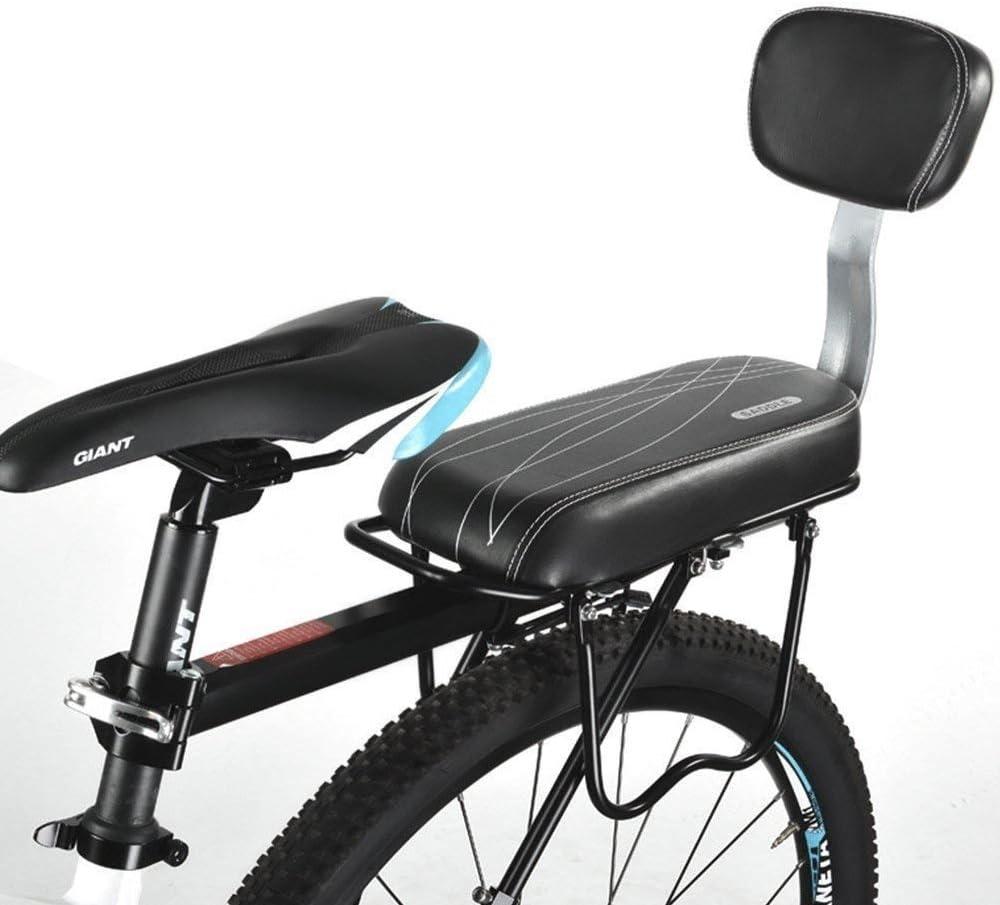 ASPIRER Asiento Trasero para Bicicleta para Ni/ños,Coj/ín para Asiento Trasero de Bicicleta,Accesorios para Bicicleta Al Aire Libre,Asiento de Ni/ño