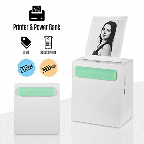 Amazon.com: Aibecy PeriPage A8 Portátil Mini Bolsillo ...