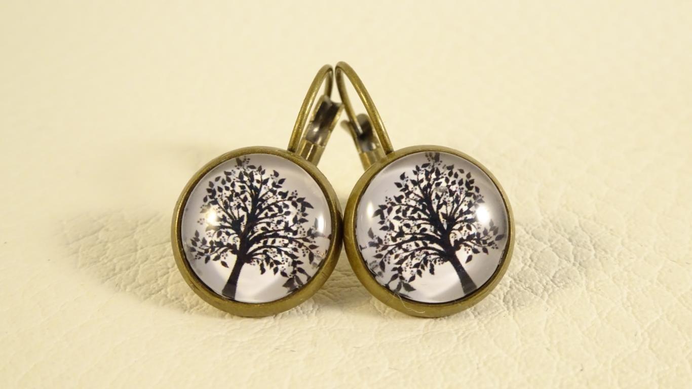 Ohrringe Blütenbaum