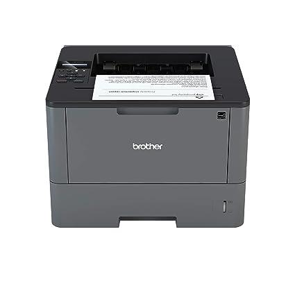 Brother HL-L5000D - Impresora láser Profesional Monocromo (Bandeja 250 Hojas, 40 ppm, USB 2.0, Memoria de 128 MB, Doble Cara automática) Color Gris ...