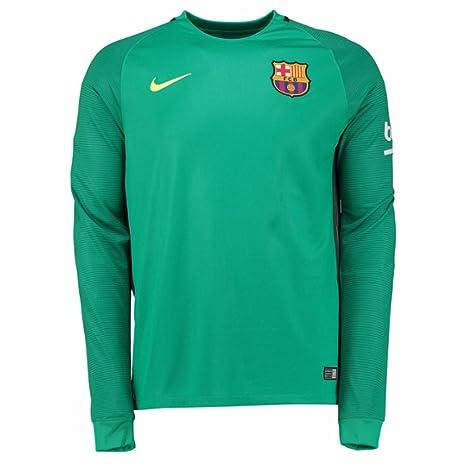 more photos b8d70 4906e Nike FCB M LS GK STADIUM JSY - Long-sleeved - T-shirt - FC ...