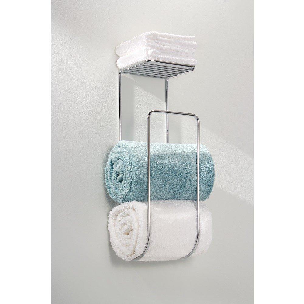 Amazon.com: InterDesign Classico Wall Mount Hand Towel Holder for ...