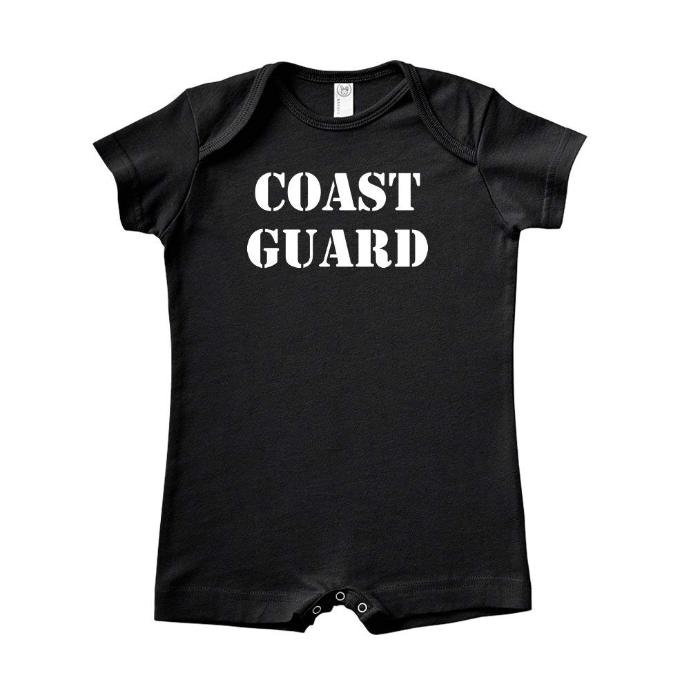 Military Armed Forces Soldier Baby Romper Coast Guard