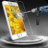 "DreamCity® iPhone 6 Plus Screen Protector, [Tempered Glass Protection] iPhone 6 Plus 5.5"" Premium Ballistic Nano 0.3mm Tempered Glass Screen Protector Scratch Free Ultra Slim Guard for Apple iPhone 6 Plus 5.5 Inch Release on 2014 (0.3mm)"