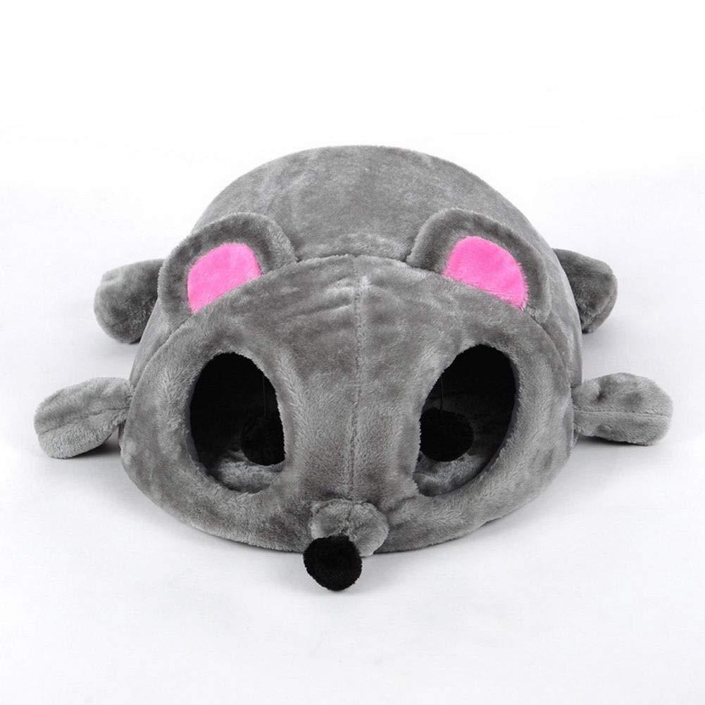 FidgetFidget Nest Cozy Mat Sleeping Bed Lgloo Cartoon Mouse Cat Cave Pet House Cushion