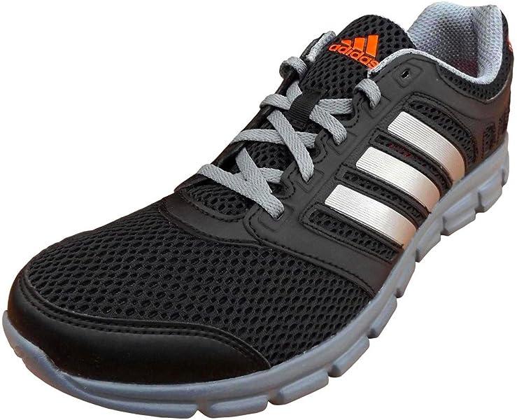 d95bd6c2dea adidas Performance Breeze 101 Men s Lightweight Running Trainers Shoes black  UK 8  Amazon.co.uk  Shoes   Bags