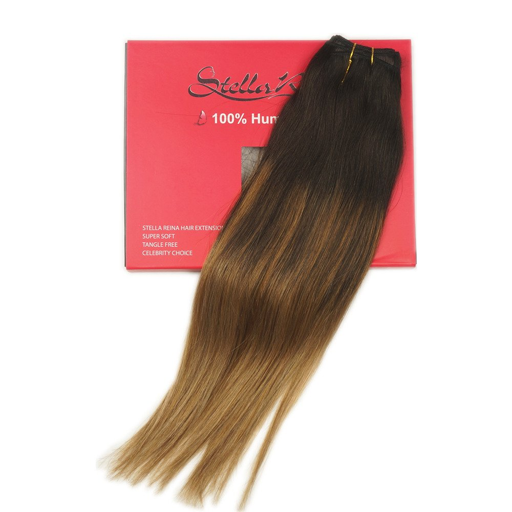 Amazon Stella Reina Clips In Hair Extensions 7pcs120g Caramel