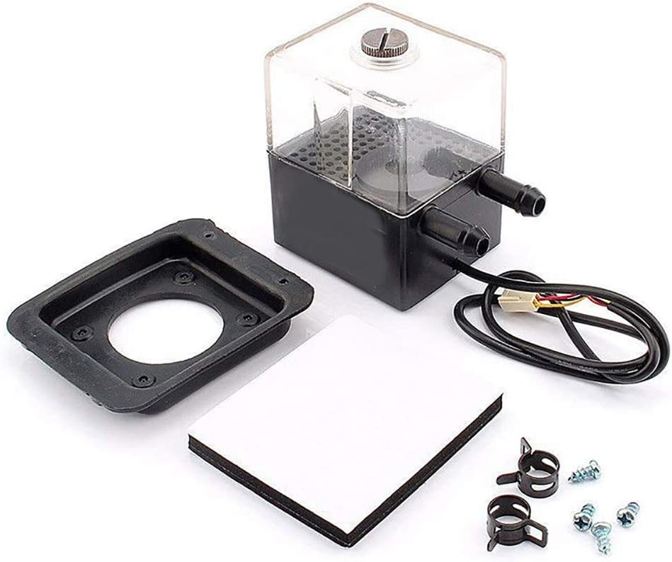 Shentesel Mute Water Cooling Pump 3-Pin Brushless PC Heat Dissipating Equipment DC 12V