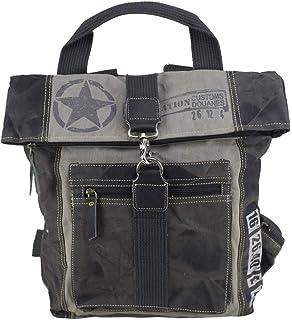 59385b333eb Sunsa Rucksack Damen Herren große Backpack Ranzen Daypack Retro Tasche  Canvastasche Vintage Studententasche Schultasche Schulranzen Herrentasche