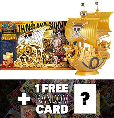 thousand-sunny-one-piece-gold-ver-5-bandai-hobby-x-one-piece-grand-ship-collection-model-kit-1-free-
