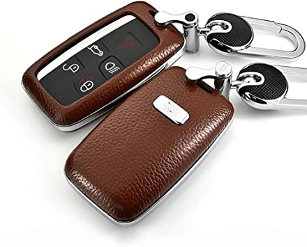 Amazon Com Ontto Compatible With Land Rover Car Key Shell Genuine