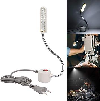 30 LED Bombilla Luz Fría para Máquina de Coser Luz de Trabajo de ...