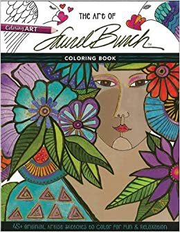 the art of laurel burchtm coloring book 45 original artist sketches to color for fun relaxation laurel burch 9781617452765 amazoncom books - Artist Coloring Books