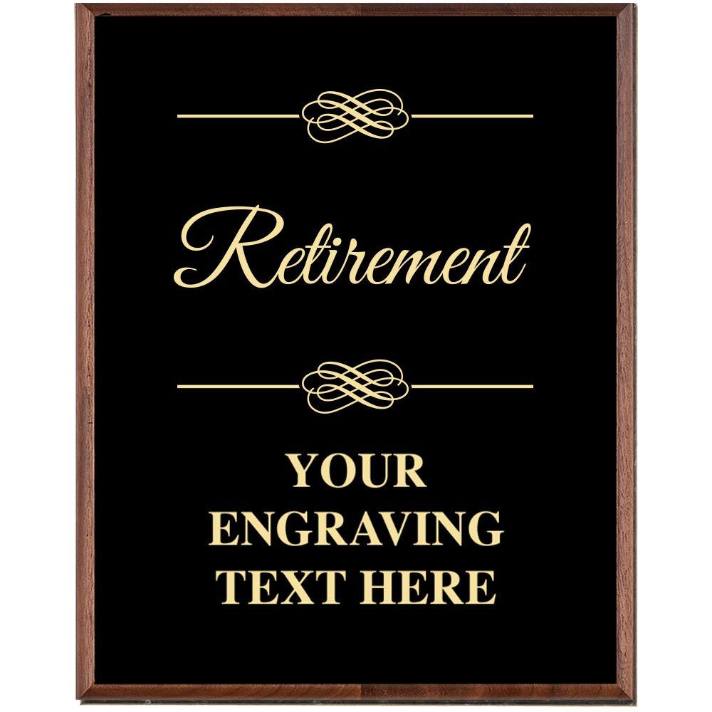 corporate employee recognition plaques 7 x 9 gold etched recognition trophy plaque awards crown awards az plmgem79