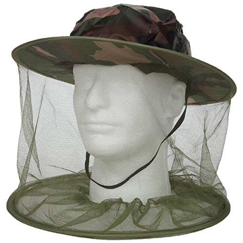 Trenton Gifts Camo Head Net, Head Net Insect Repellent (Head Turkey Net)